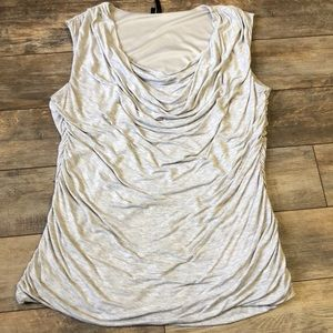 Maurices Scoop Neck Heathered Gray Sleeveless Tank